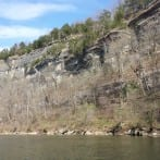 Bluffs on the James River