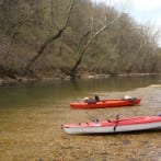 River Kayaking in the Ozarks